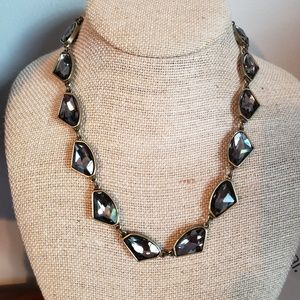 C + i collar necklace
